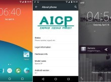 AICP Android Lollipop ROM for Xperia SP